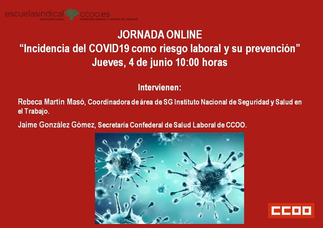 INCIDENCIA DEL COVID 19 COMO RIESGO LABORAL Y SU PREVENCIÓN