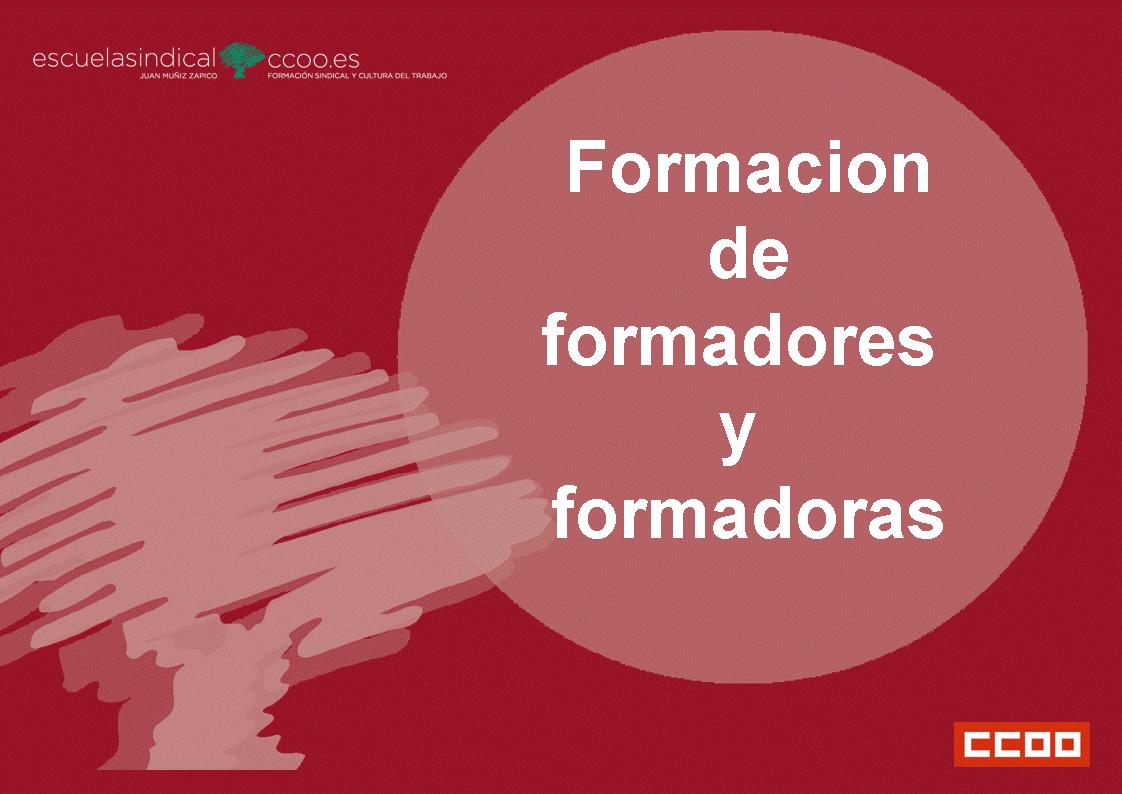 Formación de Formadores y Formadoras sindicales